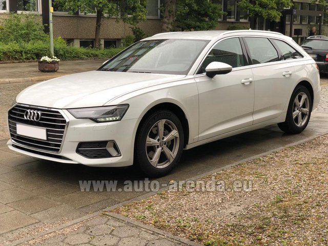Rental Audi A6 40 TDI Quattro Estate in London