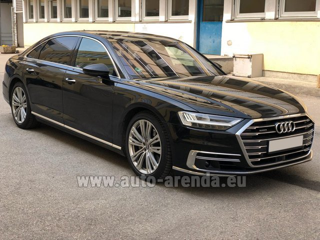 Rental Audi A8 Long 50 TDI Quattro in Great Britain