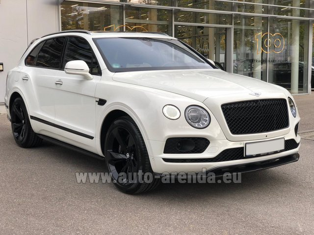 Rental Bentley Bentayga 6.0 litre twin turbo TSI W12 in London