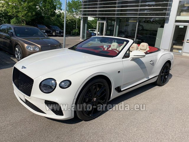 Rental Bentley GTC W12 First Edition 2019 in London