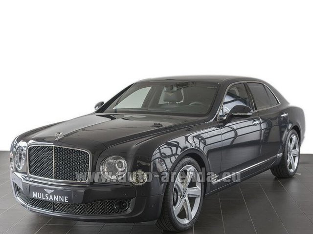 Прокат Бентли Mulsanne Speed V12 в Эдинбурге