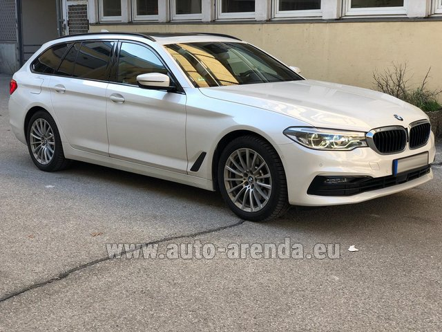 Rental BMW 5 Touring Equipment M Sportpaket in Glasgow