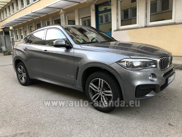 Rental BMW X6 4.0d xDrive High Executive M in Glasgow
