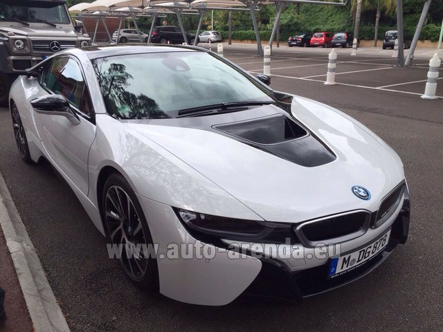 Rental BMW i8 Coupe Pure Impulse in Glasgow