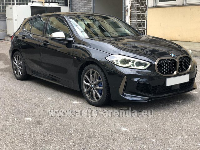 Rental BMW M135i XDrive in Great Britain
