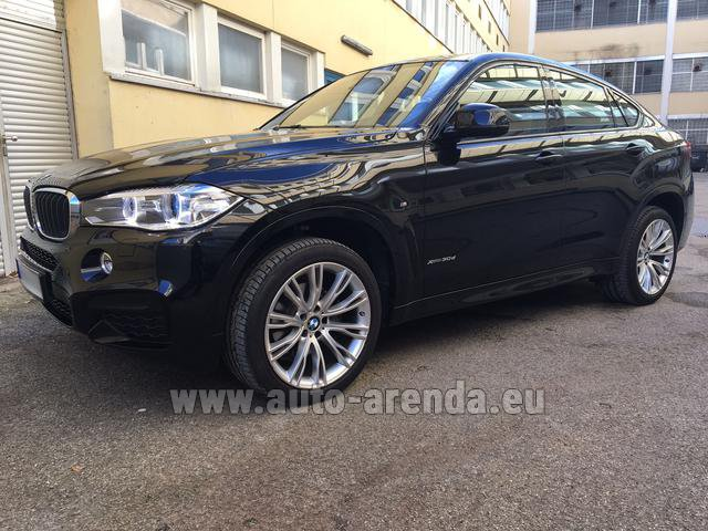 Прокат БМВ X6 3.0d xDrive High Executive M спорт пакет в Лондоне