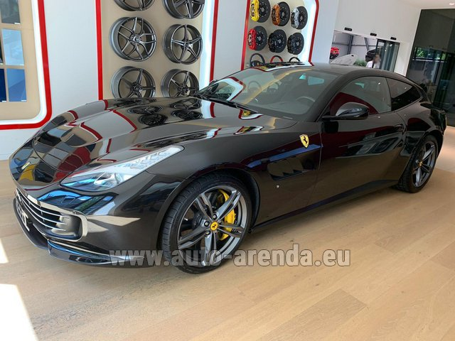 Rental Ferrari GTC4Lusso in Great Britain