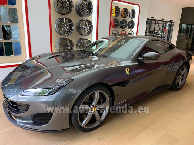 Rental Ferrari Portofino in York