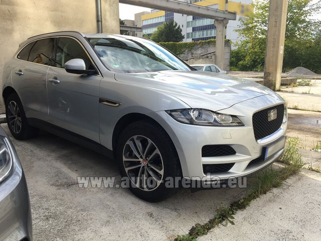 Rental Jaguar F-Pace in Luton