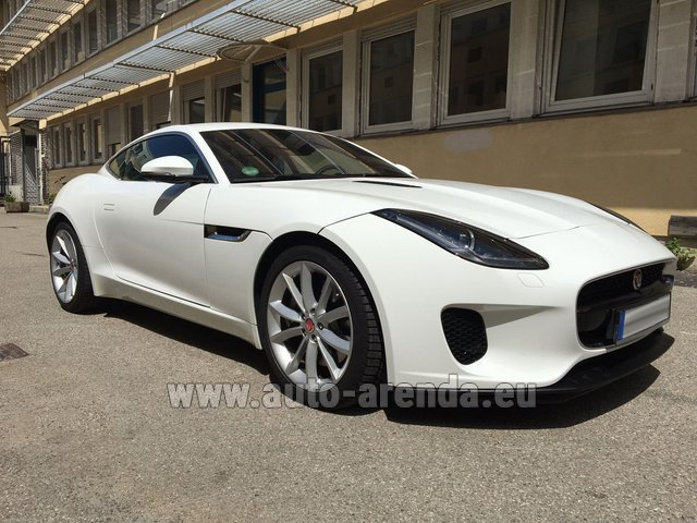 Rental Jaguar F-Type 3.0 Coupe in Glasgow