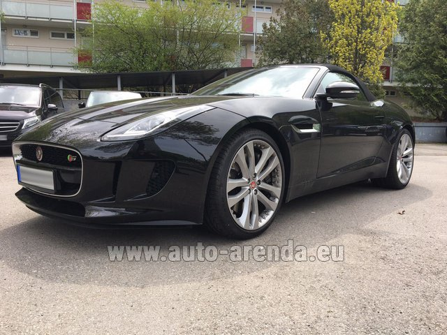 Rental Jaguar F Type 3.0L in London