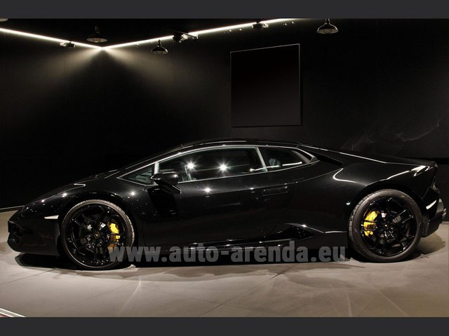 Rental Lamborghini Huracan LP580-2 Lifting System Giano 20 in Glasgow