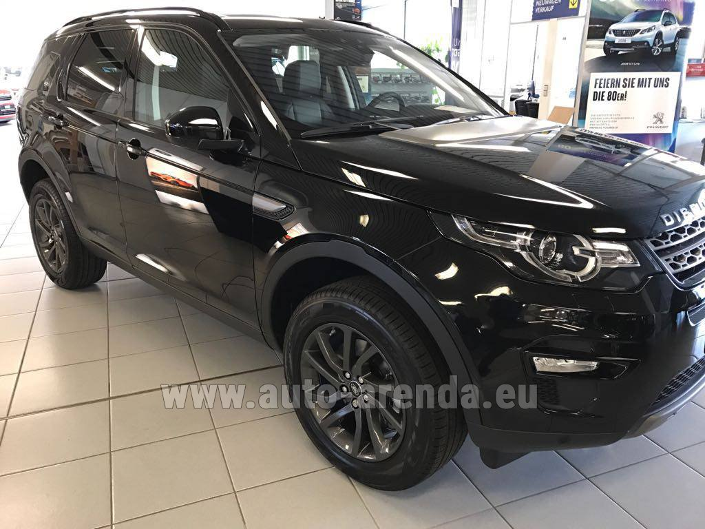 Gatwick Land Rover Discovery Sport HSE Luxury (5-7 Seats) rental