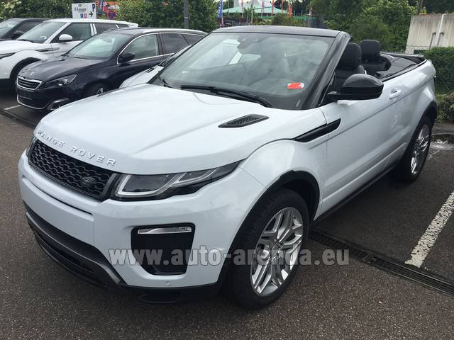 Rental Land Rover Range Rover Evoque HSE Cabrio SD4 Aut. Dynamic in Gatwick