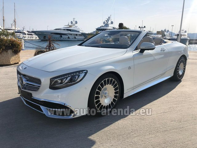 Rental Maybach S 650 Cabriolet, 1 of 300 Limited Edition in Great Britain