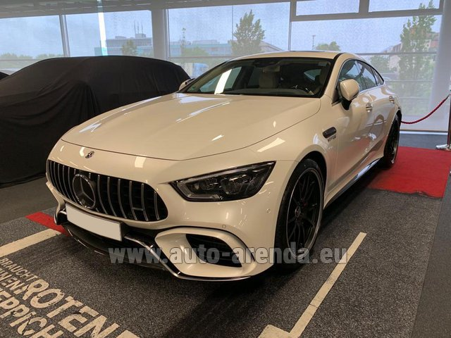 Rental Mercedes-Benz AMG GT 63 S 4-Door Coupe 4Matic+ in Great Britain