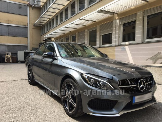 Rental Mercedes-Benz C-Class C43 AMG BITURBO 4Matic in Glasgow