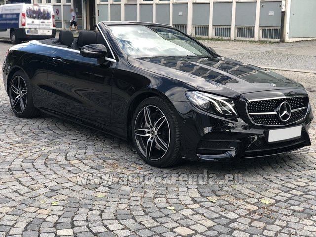 Rental Mercedes-Benz E-Class E200 Cabrio AMG equipment in Great Britain