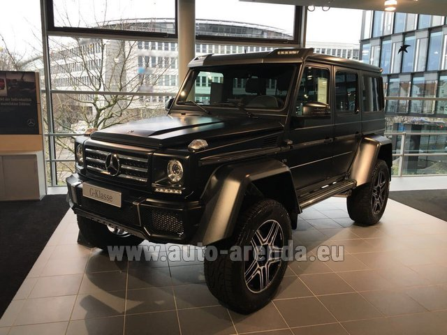 Rental Mercedes-Benz G-Class G 500 4x4² V8 in Glasgow