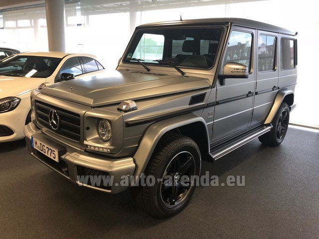 Rental Mercedes-Benz G-Class G 500 Limited Edition in Glasgow