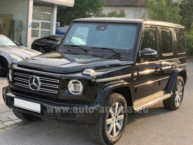 Rental Mercedes-Benz G-Class G500 2019 Exclusive Edition in London