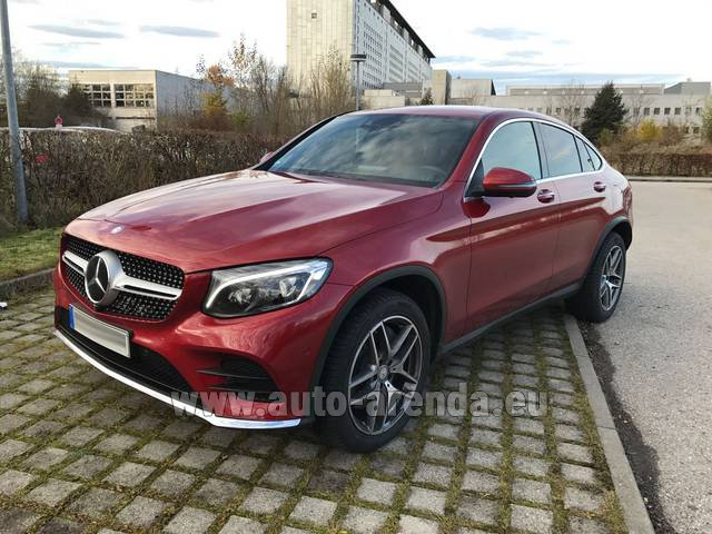Rental Mercedes-Benz GLC Coupe in Gatwick
