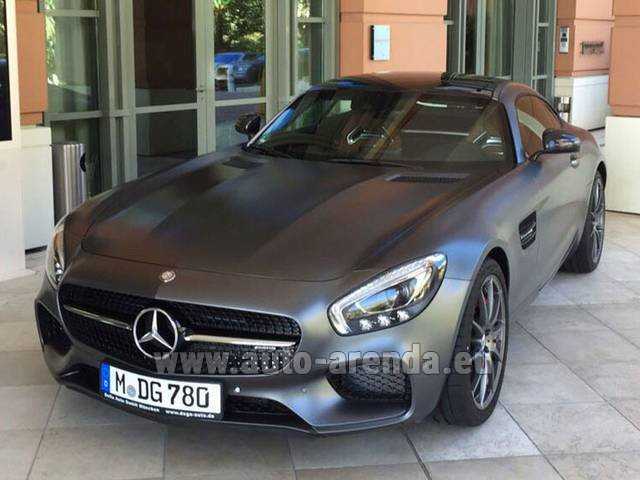Rental Mercedes-Benz GT-S AMG in Heathrow