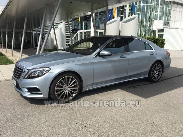 Прокат Мерседес-Бенц S 350 L BlueTEC 4MATIC AMG в Глазго