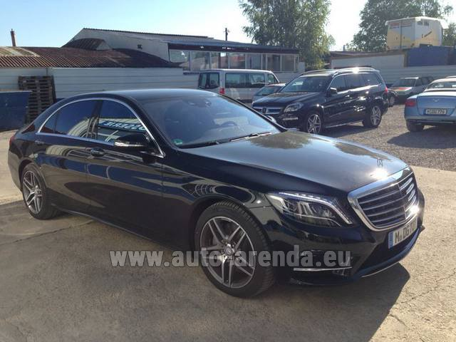 Rental Mercedes-Benz S 350 L BlueTEC AMG in Glasgow