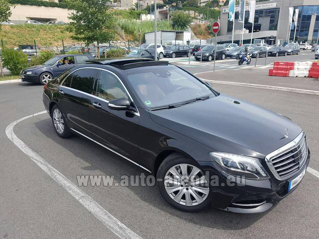 Rental Mercedes-Benz S 350 Long AMG in Glasgow