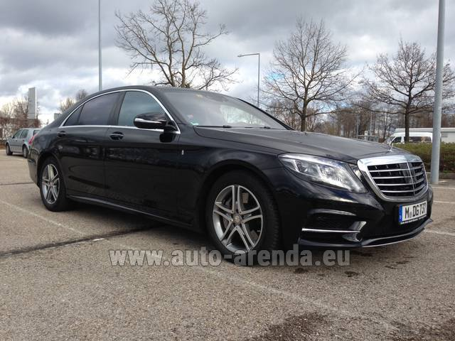 Rental Mercedes-Benz S 350 Long Diesel 4x4 AMG in Glasgow