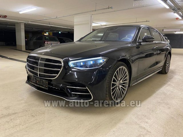 Rental Mercedes-Benz S 500 4MATIC Sedan long in Great Britain