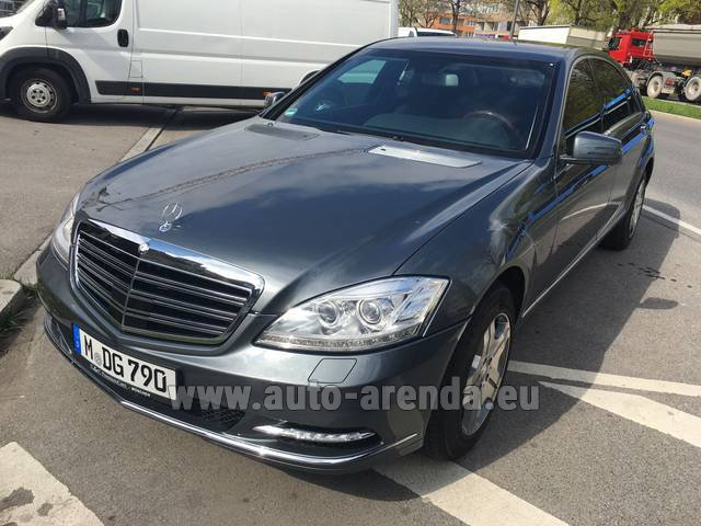 Rental Mercedes-Benz S 600 L B6 B7 Guard FACELIFT in Glasgow