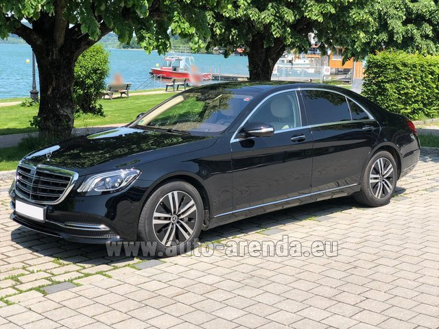 Rental Mercedes-Benz S-Class S400 Long 4Matic Diesel AMG equipment in Great Britain