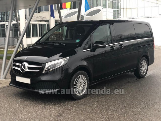 Rental Mercedes-Benz V-Class (Viano) V 300 d 4MATIC AMG equipment in Glasgow