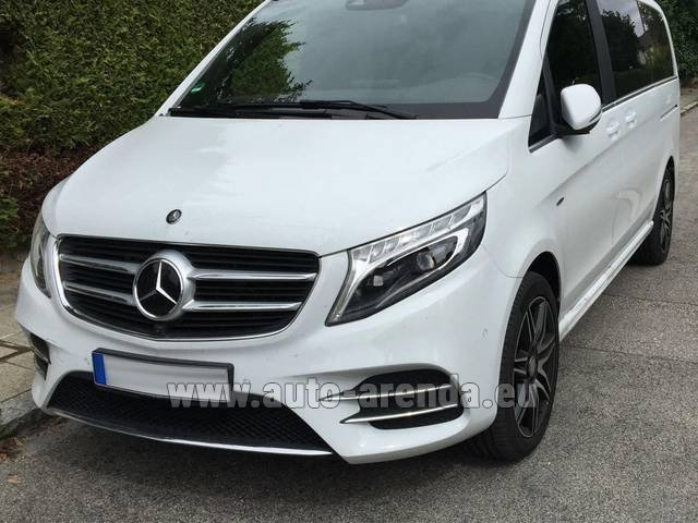 Rental Mercedes-Benz V-Class (Viano) V 250 D 4Matic AMG Equipment in Manchester