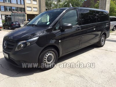 Mercedes Vito Long (1+8 Pax) AMG equipment