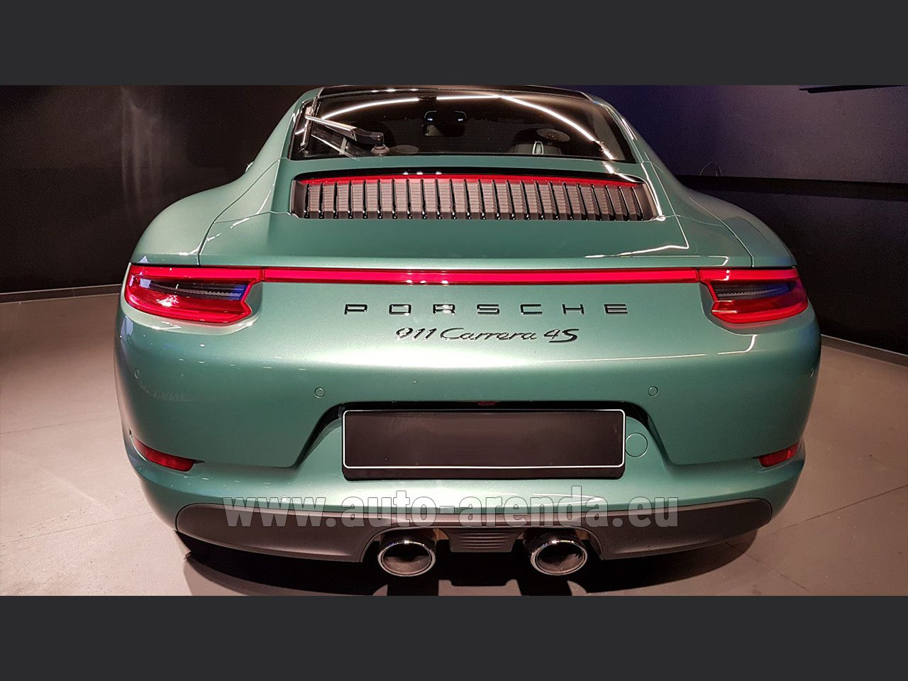 Rent The Porsche 911 991 4s Racinggreen Individual Sport