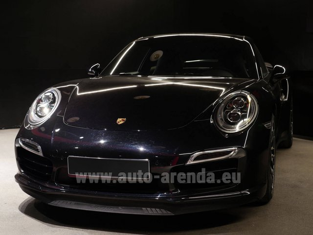 Rental Porsche 911 991 Turbo S Ceramic LED Sport Chrono Package in Glasgow