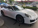 Rent-a-car Porsche 911 Carrera Cabrio White in Great Britain, photo 1