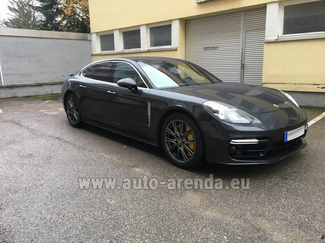 Rental Porsche Panamera Turbo Executive in London