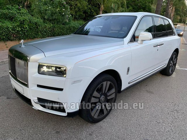 Rental Rolls-Royce Cullinan White in London