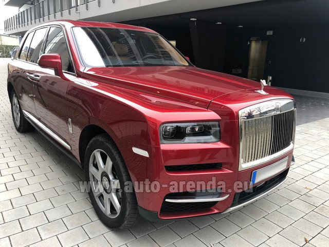 Rental Rolls-Royce Cullinan in Great Britain
