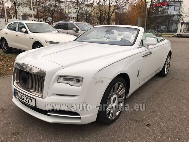 Rental Rolls-Royce Dawn in York